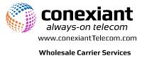 Conexiant Telecom Logo