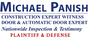 Michael Panish, Construction & Door Expert Witness Logo