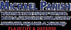 Michael Panish, Construction & Door Expert Witness Logo