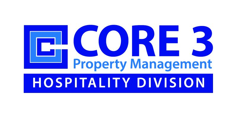 Core 3 Property Management:Hospitality Division Logo