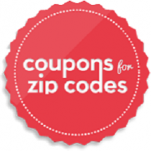 Coupons For Zip Codes Logo