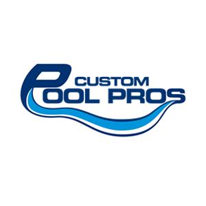 Custom Pool Pros Logo