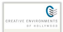 Creative Environments of Hollywood Logo