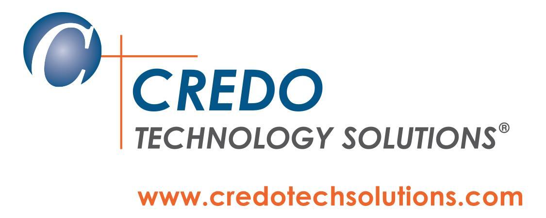 Credo Technology Solutions Logo