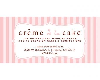 Creme de la Cake Logo