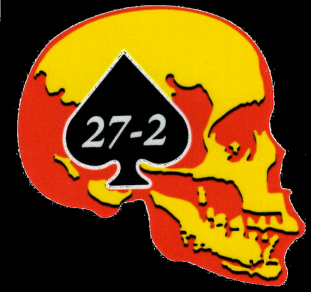 Combat Veteran Motorcycle Association, Chapter 27-2 Logo