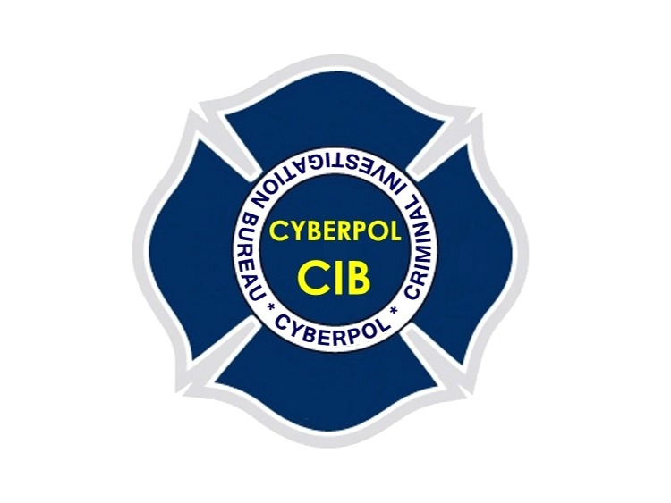 CYBERPOL INTERNATIONAL CYBER POLICING ORGANIZATION Logo