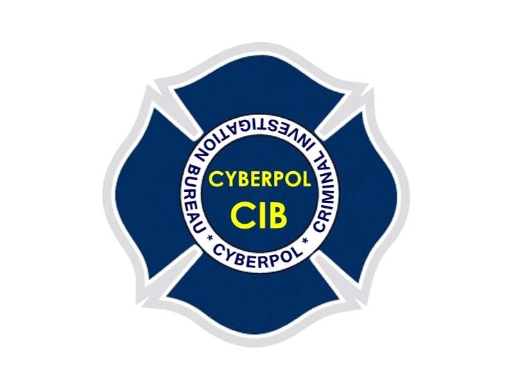 CYBERPOL INTERNATIONAL CYBER POLICING ORGANIZATION Logo