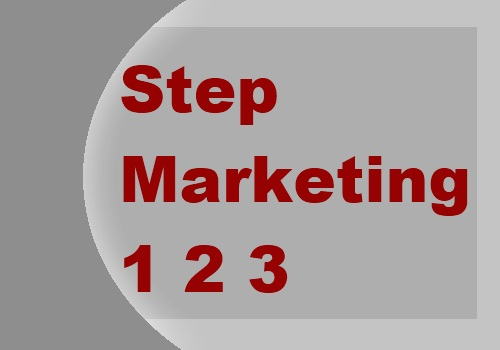 Step Marketing 123 Logo