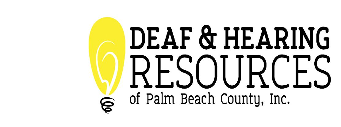 Deaf & Hearing Resources of Palm Beach County Logo