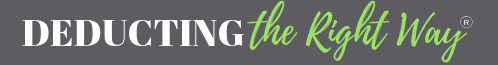 Deducting The Right Way® Logo