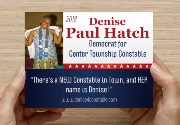 Campaign for Denise Paul Hatch for Constable Logo
