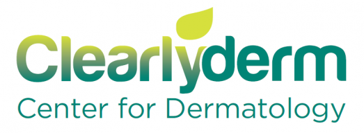 Clearlyderm CENTER FOR DEMATOLOGY Logo