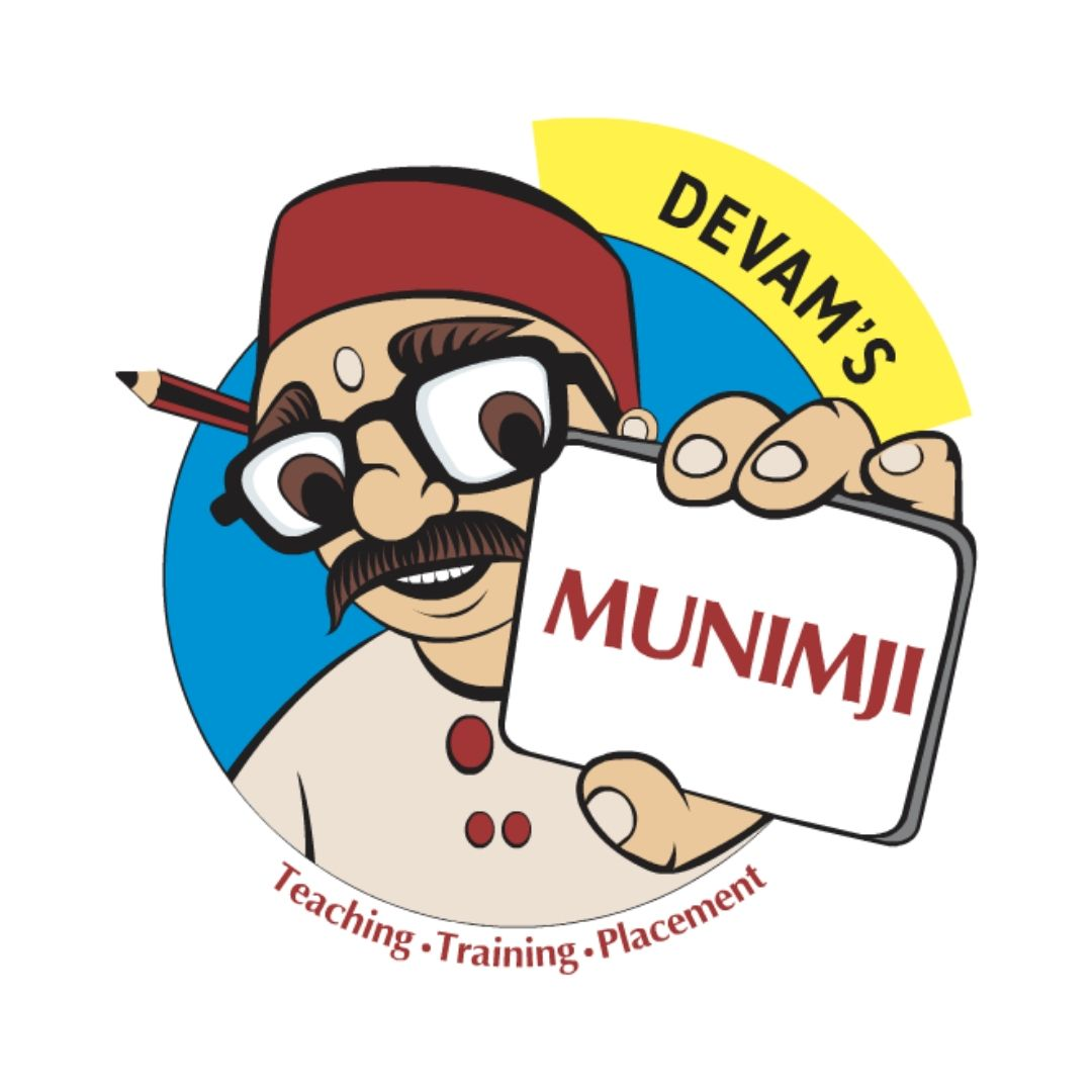 Devam's Munimji Training and Placement Academy Logo