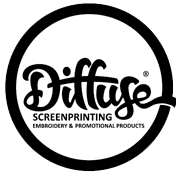 Diffuse Screen Printing Logo