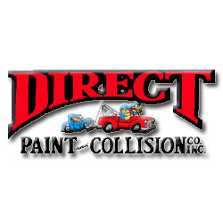 Direct Paint & Collision Logo