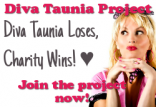 Diva Taunia's Backstage Pass Logo