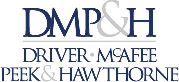 Driver, McAfee, Peek & Hawthorne, P.L. Logo