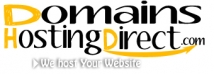 Domains Hosting Direct.com Logo