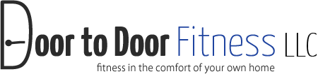 Door to Door Fitness Logo