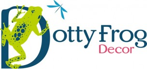 Dotty Frog Decor Logo
