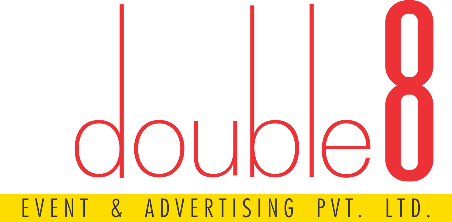 Double8 Event & Advertising Logo