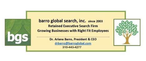 barro global search, inc. Logo