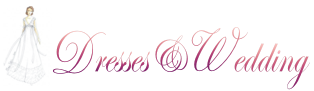 dresses and wedding Logo