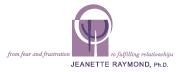 Jeanette Raymond, Ph.D. Logo