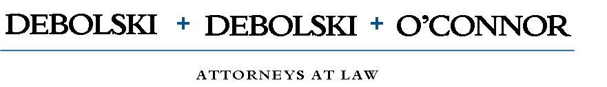 Debolski, Debolski, & O'Connor Logo