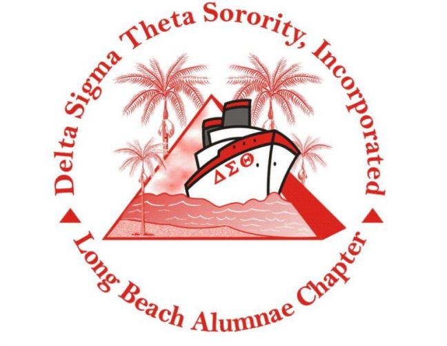 Delta Sigma Theta Sorority - Long Beach Alumnae Logo