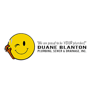 Duane Blanton Plumbing, Sewer, and Drainage Inc. Logo