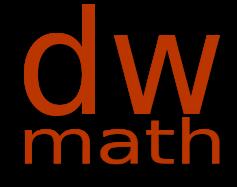 Dirk Wriedt Math Worksheets Logo