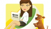 Eco Press Marketing Logo