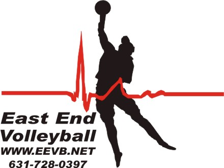 East End Volleyball Logo