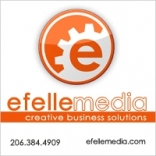 efelle media seattle website design Logo