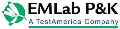 EMLab P&K IAQ Laboratory Logo