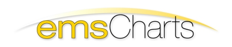 emsCharts, Inc. Logo