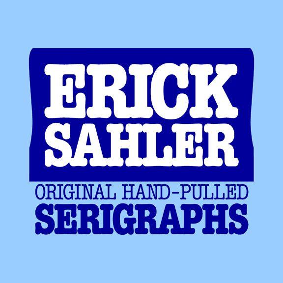 Erick Sahler Serigraphs Logo