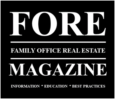 The Family Office Real Estate Magazine Logo
