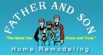 Father and Son Home Remodeling Logo
