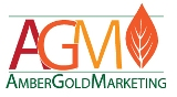 Amber Gold Marketing Logo