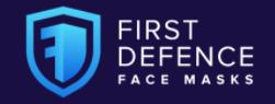 First Defence Face Masks Logo