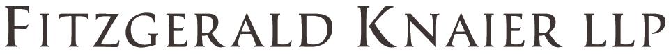 Fitzgerald Knaier LLP Logo