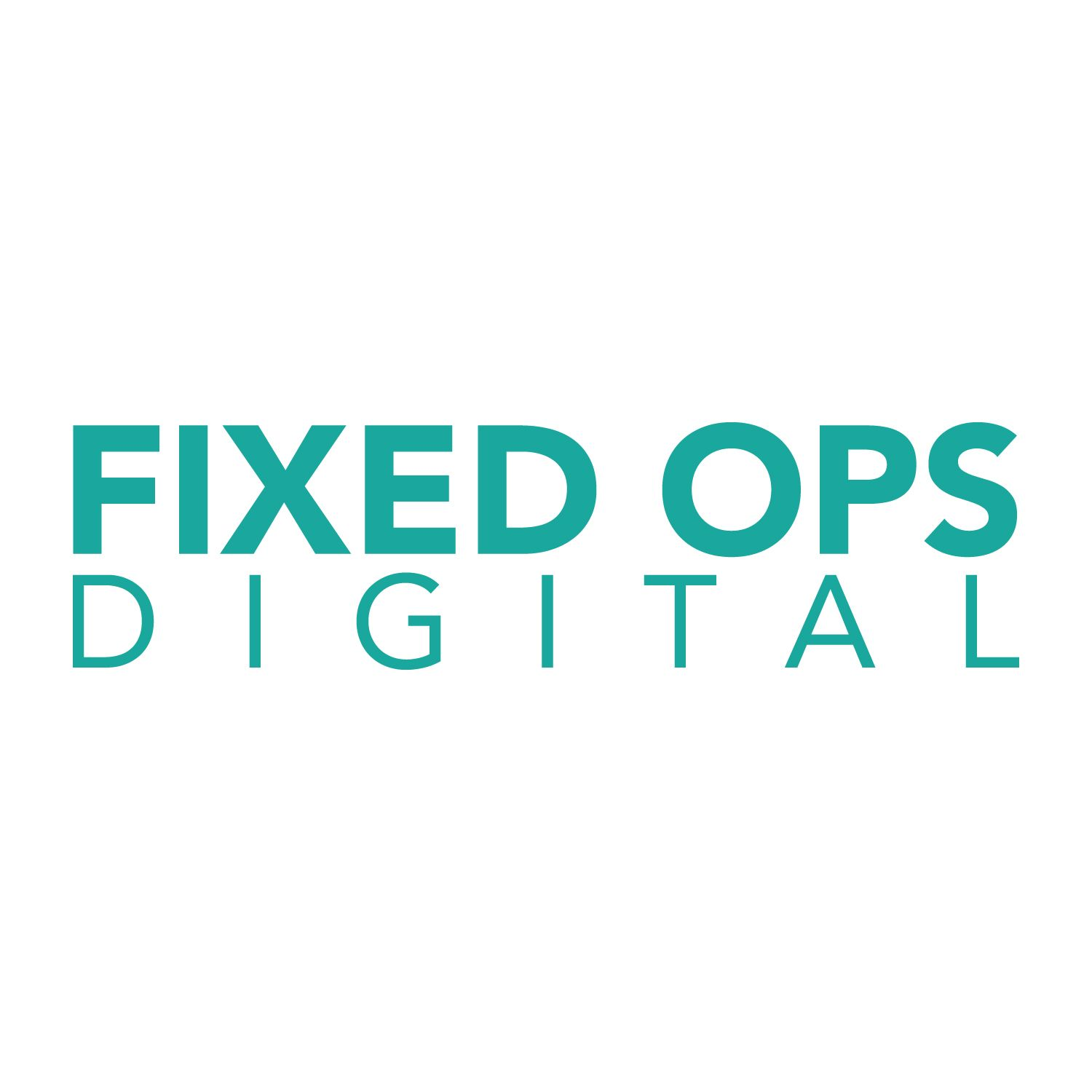 Fixed Ops Digital Logo
