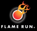 Flame Run Logo