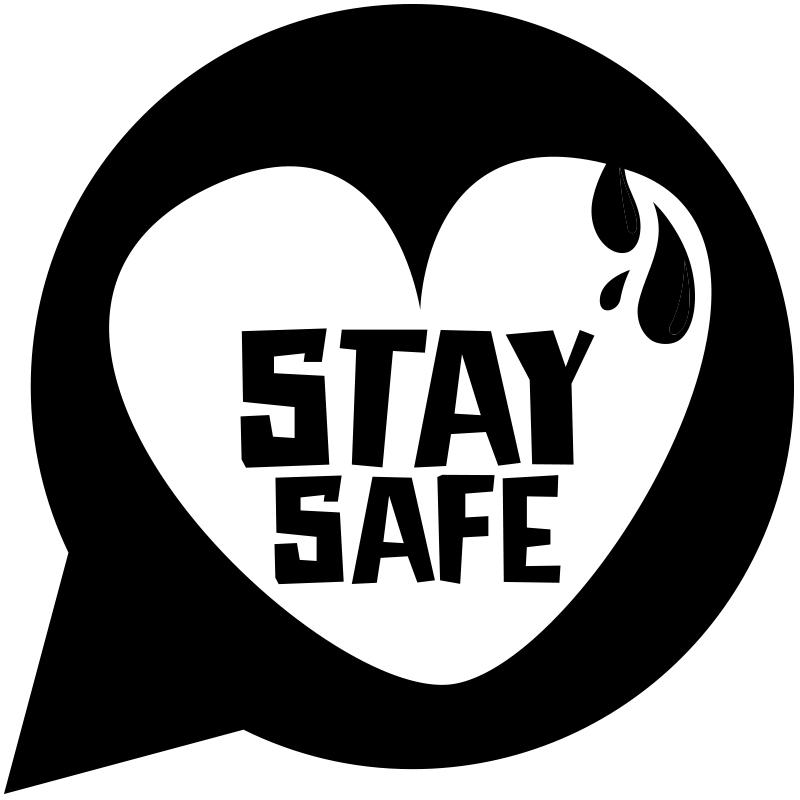 STAY SAFE BRACELET Logo