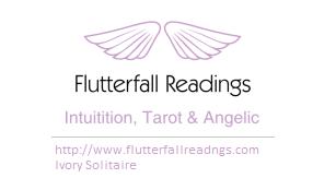 Flutterfall Readings Logo