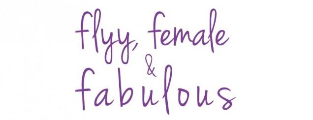 Flyy, Female & Fabulous Logo