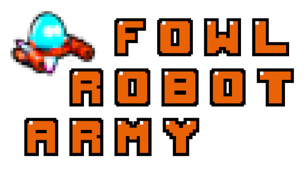 Fowl Robot Army Logo